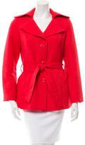 Cynthia Rowley Textured Notch-Lapel Jacket