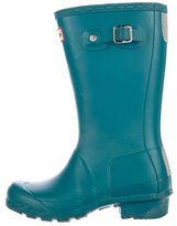 Hunter Girls' Knee-High Rain Boots