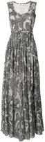 Diane von Furstenberg sleeveless maxi dress - women - Silk/Cotton/Polyester - 6