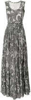 Diane von Furstenberg sleeveless maxi dress - women - Silk/Cotton/Polyester - 8