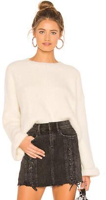 superdown Jessie Fuzzy Sweater
