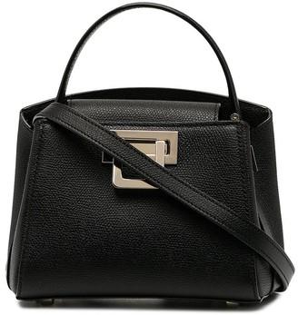 Valextra Flip-Lock Tote Bag