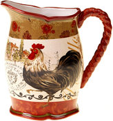 JCPenney Certified International Tuscan Rooster Pitcher
