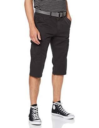 Q/S designed by Men's 47.906.74.2727 Bermuda Short, (Black Grey 9897), (Size: 32)