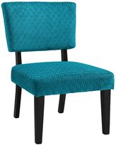 Linon Taylor Teal Blue Accent Chair