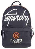 Superdry New Mens Blue International Montana Polyester Backpack Backpacks