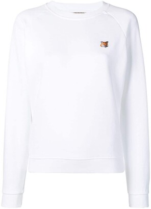 MAISON KITSUNÉ Fox Head Patch Sweatshirt