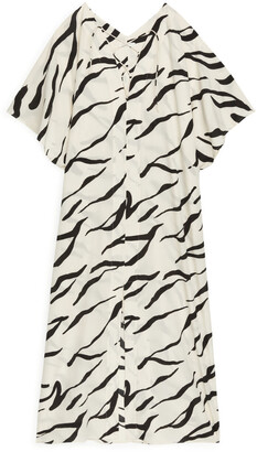 Arket Printed Kaftan Dress