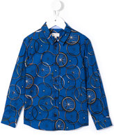 Paul Smith bicycle wheel printed shirt