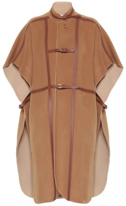 Burberry Wool-blend cape