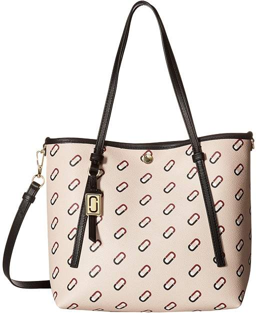 Marc Jacobs Always Full Logo Scream Small Shopping Tote