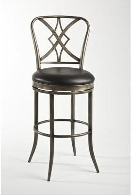 "Fleur De Lis Living Newbury Bar & Counter Swivel Stool Seat Height: Counter Stool (26"" Seat Height)"