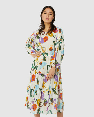 gorman Tropicola Smock Dress