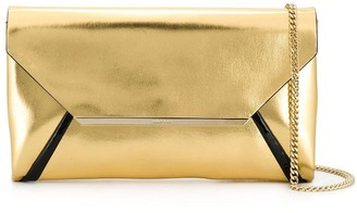 Lanvin evening laminated clutch