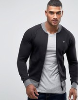 Armani Jeans Track Jacket With Contrast Panel