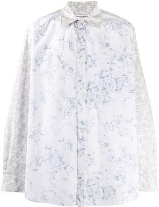 Marine Serre Floral Long-Sleeve Shirt