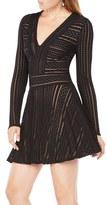 BCBGMAXAZRIA Women's Kinley Mesh A-Line Dress