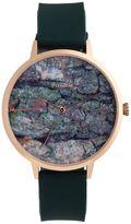 Pilgrim Beautiful Watch With A Green Pattern