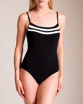 Maryan Mehlhorn Swimwear Power Scoop Neck Swimsuit