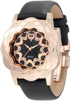 Brillier Women's 10-3F121-01 La Fleur Round Rose Gold Analog Watch