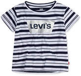 Levi's Striped Cotton T-Shirt, Big Girls