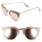 BP Women's 52Mm Cat Eye Sunglasses - Mauve