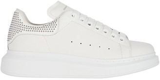 Alexander McQueen Oversized Leather Studded Sneakers