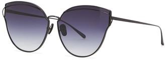 FOR ART'S SAKE Sun City Black Oversized Sunglasses