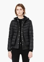 Mango Outlet Quilted Feather Coat