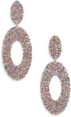 BP Sparkle Resin Drop Earrings