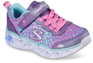 Skechers S Lights Heart Lights Light-Up Sneaker - Kids'