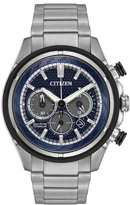 Citizen Men's Eco-Drive Titanium Watch, 46mm