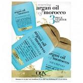 OGX Renewing Argan Oil of Morocco 3 Piece Starter Kit 3 pack