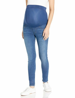 James Jeans Women's Twiggy Maternity External Band Skinny Victory 29