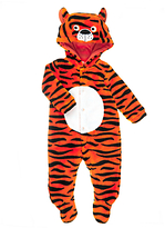 John Lewis Dress Up Tiger Onesie, Orange