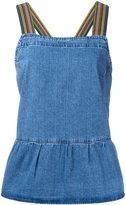 MiH Jeans Rango Pinafore blouse