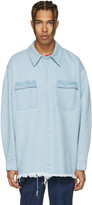 Marques Almeida Blue Denim Overshirt
