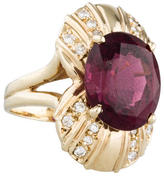 Ring Tourmaline & Diamond Cocktail
