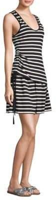 Derek Lam 10 Crosby Layered Stripe Dress