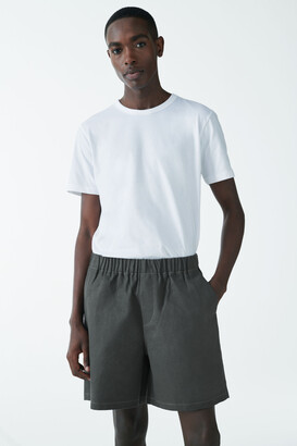 Cos Hemp-Organic Cotton Mix Relaxed Shorts