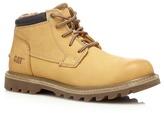 Caterpillar Tan 'doubleday' Fleece Lined Boots