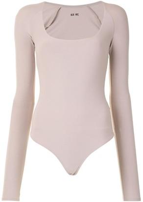Alix Sullivan scoop-neck bodysuit