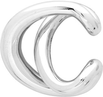 Charlotte Chesnais Silver Initial Ear Cuff