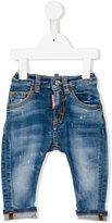 DSQUARED2 stonewashed jeans - kids - Cotton/Spandex/Elastane - 9 mth
