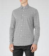 Reiss Monza Geometric Print Shirt