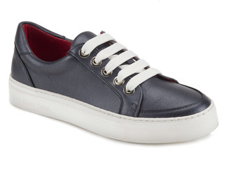 Its Got Soul Cara Metallic Blue Sneaker