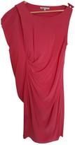 Maje Pink Silk Dresses