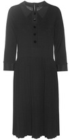 Marc Jacobs Knitted Cotton And Cashmere Dress