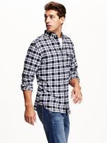 Old Navy Slim-Fit Plaid Flannel Shirt