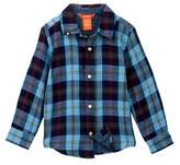 Joe Fresh Double Gauze Woven Shirt (Toddler & Little Boys)
